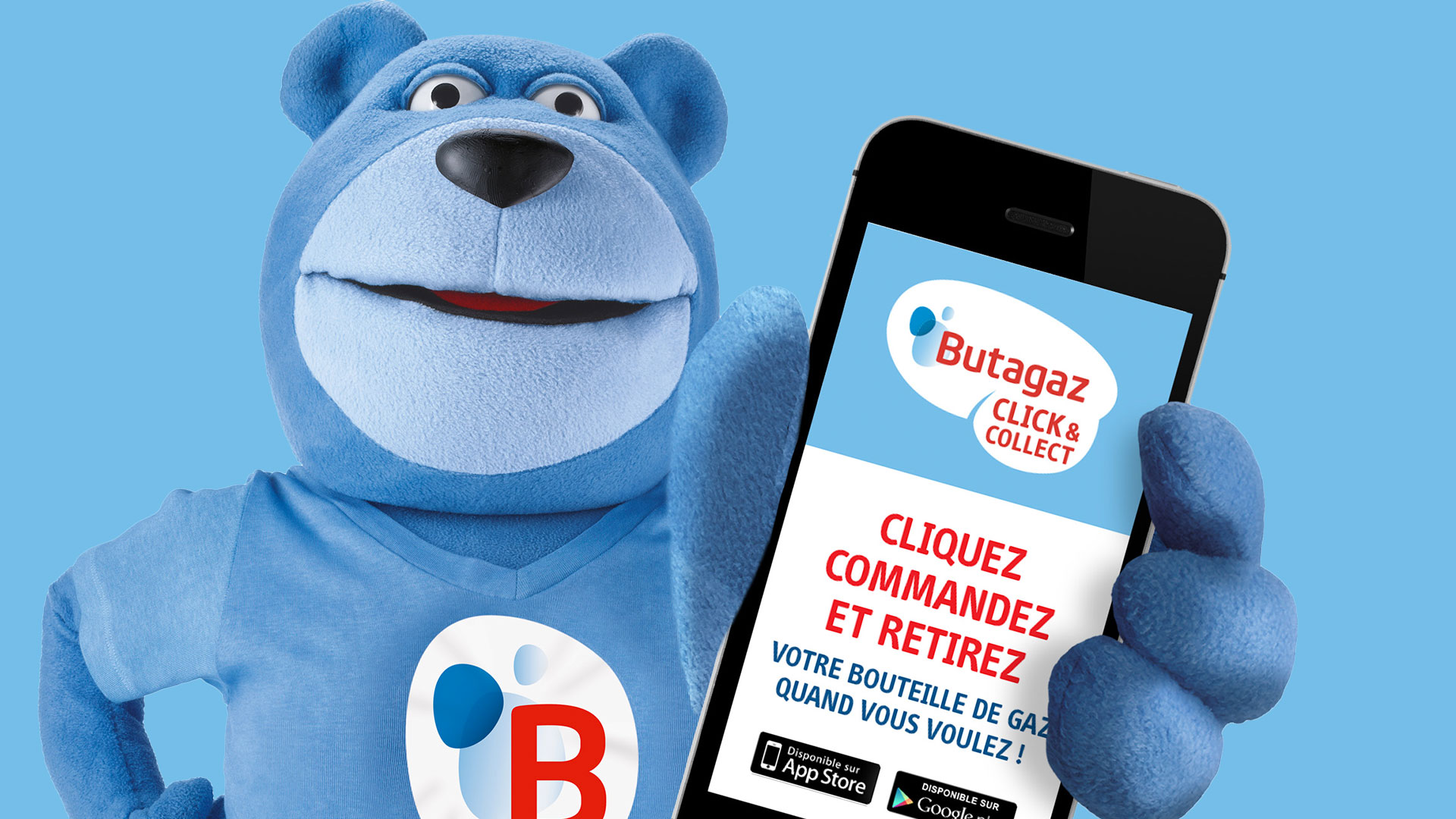 Butagaz Click & Collect