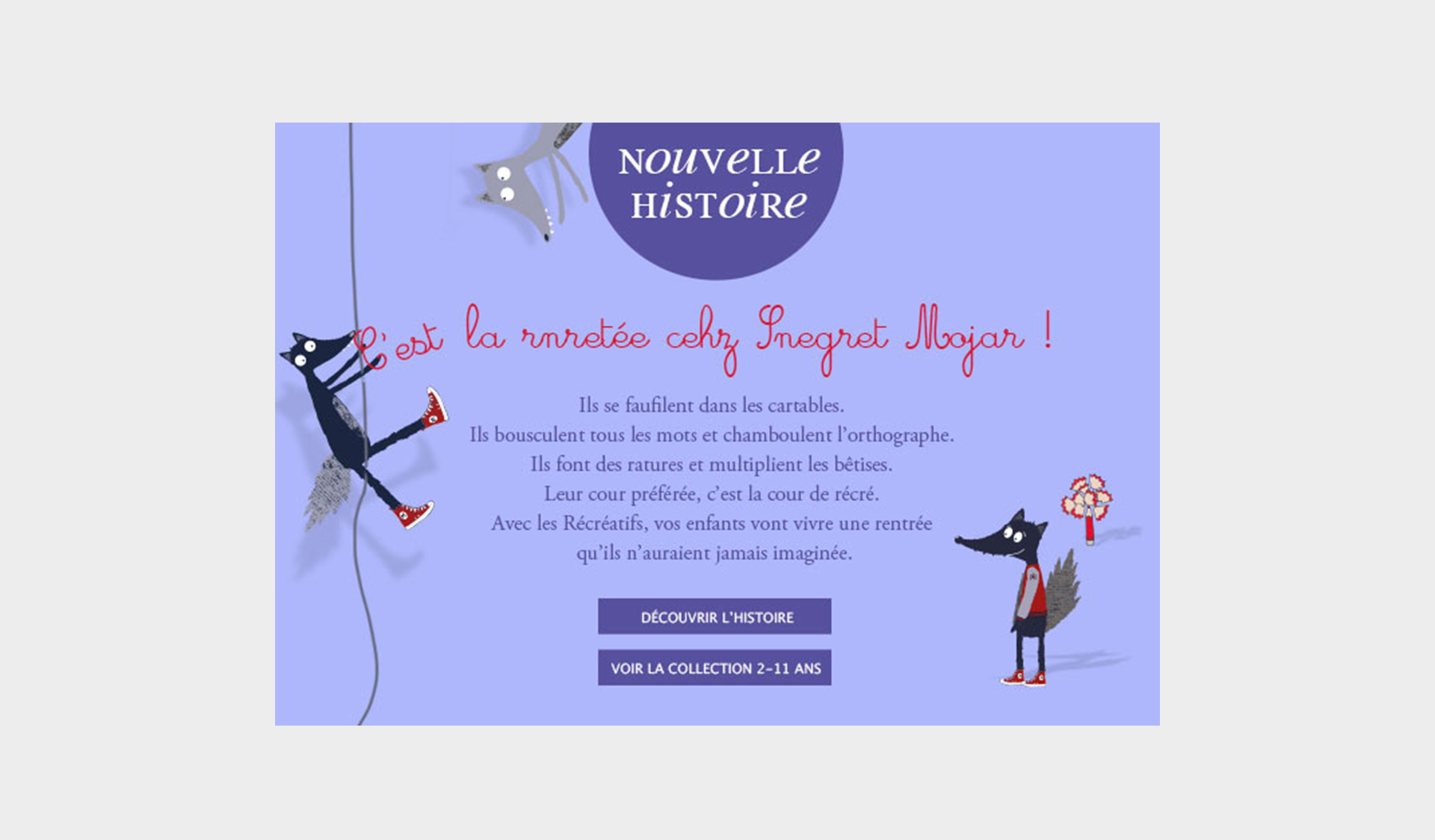 Site internet Sergent Major par Score DDB° l'Agence Retail de DDB°